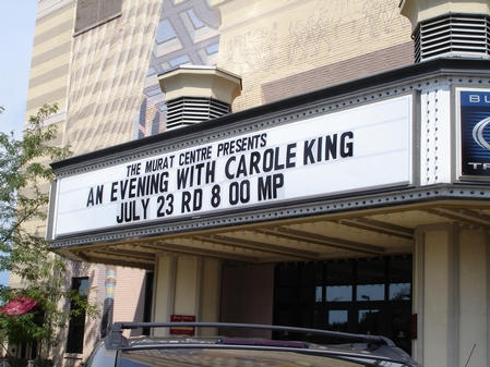 Awesome Photo By CKP Marquee At The Murat Theater In Indianapolis. Photo By CKP  Carole ...