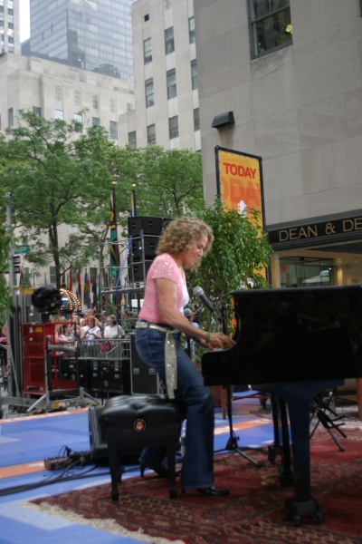 Photo By CKP Carole Playing The Today Show 7 15 05.