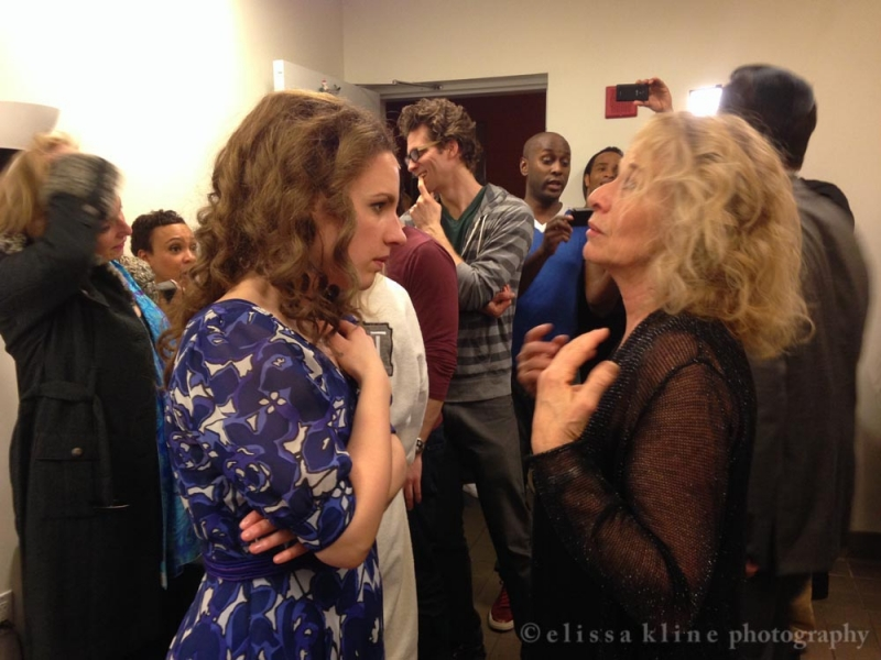 Surprise Visit To Quot Beautiful The Carole King Musical