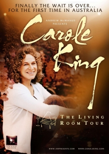 Carole Kingu0027s The U0027Living Room Touru0027 Receives Rave Reviews Down Under Part 5