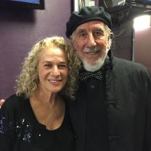 Carole King and Lou Adler at SeriousFun Gala LOA 2015