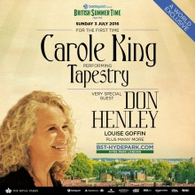 We Are Thrilled To Announce That After Nearly Three Decades Carole King Came Back London Headline The Sold Out Concert At Bst Hyde Park