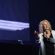 Carole at the Black Ball - Keep A Child Alive.  Photo: Wire Image