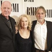 Russ Kunkel, Carole King, Danny Kortchmar -BMI Awards. Photo by Elissa Kline