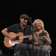 Boston - James Taylor and Carole King. Photo by Elissa Kline
