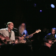 Russ Kunkel, James Taylor, Leland Sklar & Kootch at the Troubadour. Photo by Elissa Kline