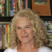 Carole King at Iconoclast Books. Photo by Elissa Kline