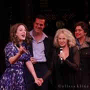 "The cast joined Carole singing ""You've Got A Friend"". Photo by Elissa Kline"