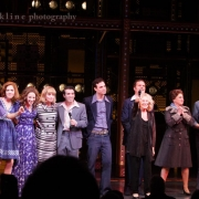 "The cast joined Carole singing ""You've Got A Friend"". Photo by Elissa Kline"