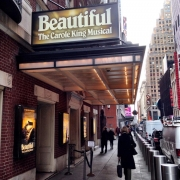 Beautiful The Carole King Musical at the Steven Sondheim Theater, NYC.  Photo by Elissa Kline