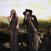 """""""Hi De Ho"""" LeAnn Rimes & Steven Tyler. Photo by Elissa Kline"""