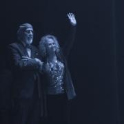 Lou Adler & Carole King enjoying the evening... Photo by Elissa Kline