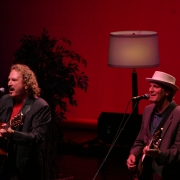 Gary Burr & Rudy Guess,  Radio City 0713-05. Photo by Elissa Kline