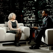 Carole King and Tavis Smiley. Photo by Van Evers