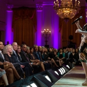 "Gloria Estefan performs during a concert honoring singer-songwriter Carole King in the East Room of the White House, May 22, 2013. President Barack Obama presented King with the 2013 Library of Congress Gershwin Prize for Popular Song during the event, which was part of the ""In Performance at the White House"" series.  ""Carole King: The Library of Congress Gershwin Prize In Performance at the White House"" premieres Tuesday, May 28 at 8 p.m. ET on PBS stations nationwide. Photo credit: White House Photo by Pe"