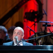 "Billy Joel performs during a concert honoring King in the East Room of the White House, May 22, 2013. President Barack Obama presented King with the 2013 Library of Congress Gershwin Prize for Popular Song. ""Carole King: The Library of Congress Gershwin Prize In Performance at the White House""  can be viewed on pbs.org . Photo credit: White House Photo by David Lienemann."