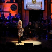 "Shelby Lynne performed ""So Far Away"" & ""It's Too Late"".  Photo by Elissa Kline"