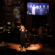 "Carole singing ""Now & Forever"" dedicated to Phil Ramone.  2013 Gershwin Prize Library of Congress Concert.  Photo by Elissa Kline"