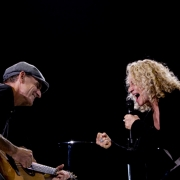 Seattle - James Taylor, Carole King. Photo by Elissa Kline