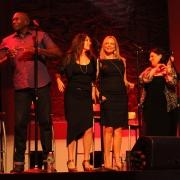 Tanglewood - Arnold McCuller, Kate Markowitz, Kim Taylor, Andrea Zonn. Photo by Elissa Kline
