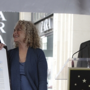 Carole,  Leron Gubler and Councilman Tom La Bong. Photo by Elissa Kline