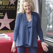 Carole gets her star. Photo by Elissa Kline