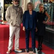 Carole with Lou Adler and Kristin Chenoweth. Photo by Elissa Kline