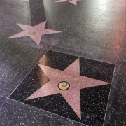 Carole's star on Hollywood's Walk of Fame. Photo by Elissa Kline