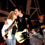 Carole King, Jakob Dylan and Wallflowers 6/18/05. Photo by Billy Tompkins