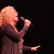 """Beautiful""... Carole King.  Photo by Elissa Kline"