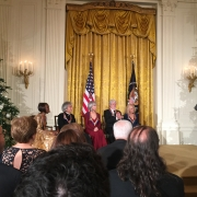 White House Reception with POTUS &  honorees   Photo by Louise Goffin